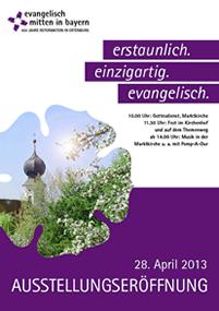 Plakat des Eröffnungsfests